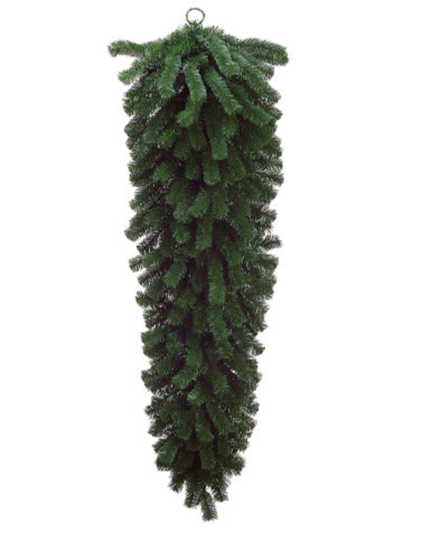 Allstate 60'' Deluxe Windsor Pine Artificial Christmas Teardrop Swag - Unlit