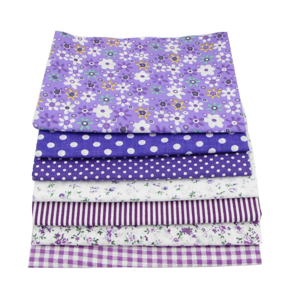 56pcs/lot 9.8'' x 9.8'' (25cm x 25cm) No Repeat Design Printed Floral Cotton Fabric for Patchwork, Sewing Tissue to Patchwork,Quilting Squares Bundles by BYY (Image #5)