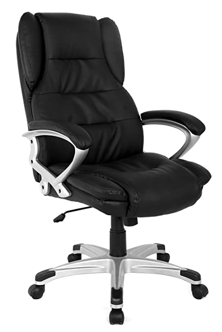amazon com modern gaming office computer chair high back executive