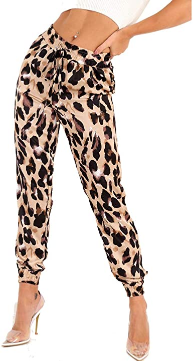 Ansenesna Pantalones Mujer Chandal Tallas Grandes Estampado ...