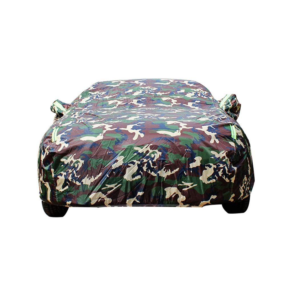 Car cover Jaguar F-TYPE Special Car Cover Car Clothing Thick Oxford Cloth Sun Protection Rain Cover Car Cloth Car Cover Size : Oxford cloth - built-in lint