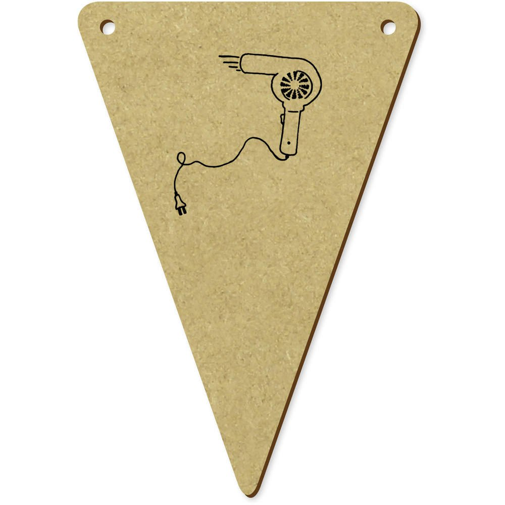 Azeeda 5 x 100mm Secador de Pelo Banderines / Banderas (BN00042188): Amazon.es: Juguetes y juegos