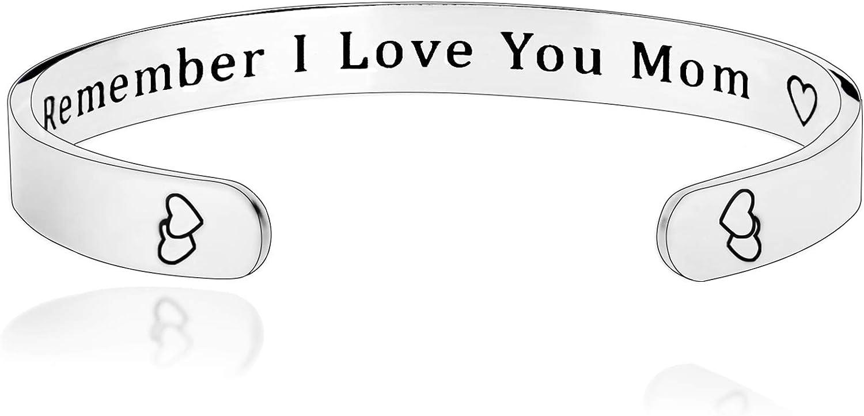 Sterling Silver Cuff Bracelet Secret Message Cuff Custom Matte Personalized Mother Children Child Mom Baby Wife