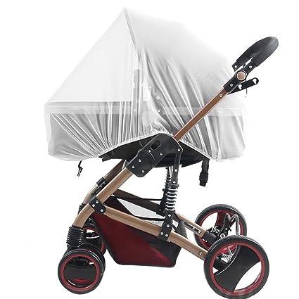Bebé Mosquitera para carritos, Carriers, asientos de coche, cuna. Se adapta a la mayoría packnplays, cuna, bassinets & playpens, hecho de color ...