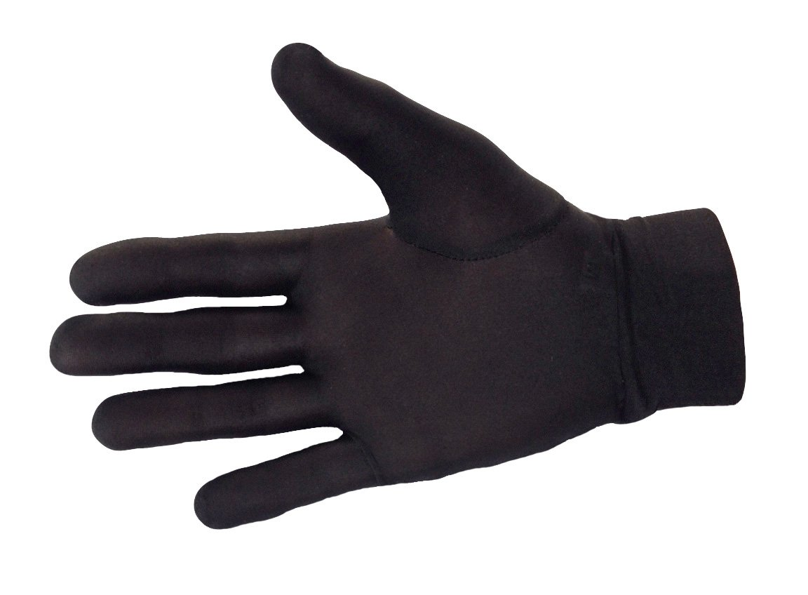 100% Pure Silk Thermal Liner Gloves Inner for Bikers, Skiers, Dog Walkers, Cyclists, Fishermen, Gardeners and all Outdoor Activities. Can also be used with a smart phone. Click2Solutions Medium
