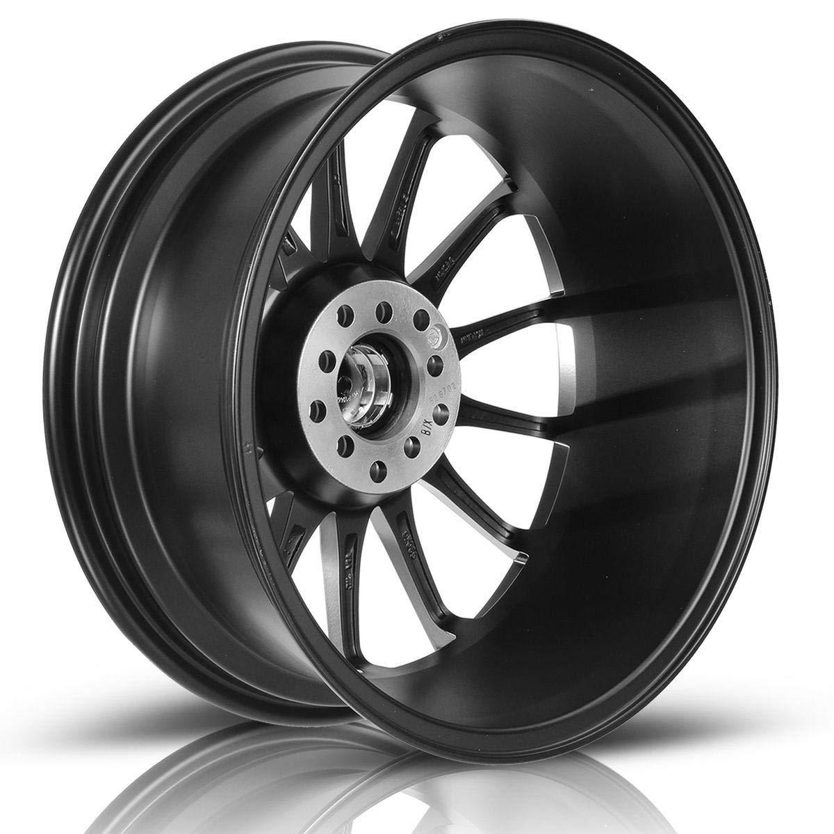 Wheels & Tires 73.1 MaxAuto 1 pcs 17x7 Matte Black Finish Rims ...