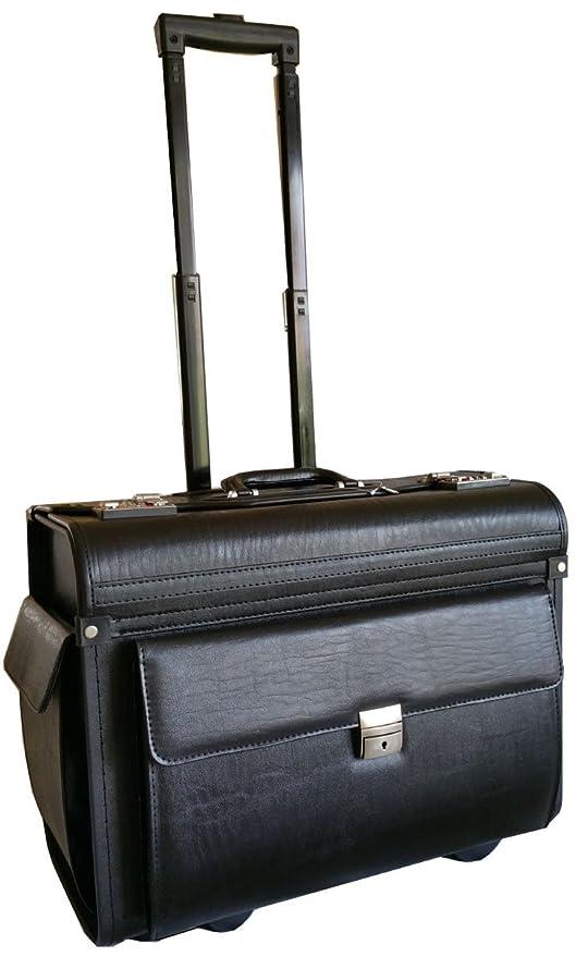 Tamaño grande con ruedas – maletín en piel sintética – Maletín de piel bolsa en ruedas