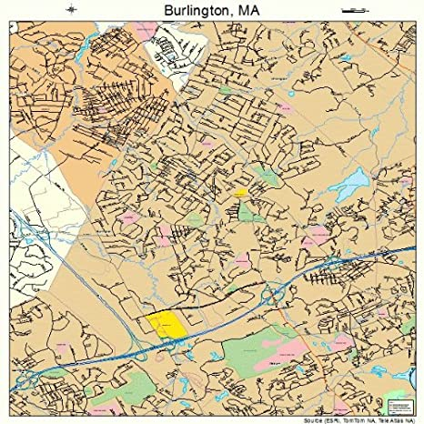 Amazon.com: Large Street & Road Map of Burlington ... on climate map, need for driving directions map, cartoon map, blank map, thematic map, park map, us radar map, paper map, dot map, grid map, world map, physical map, travel map, state map, trail map, economic map, treasure map, city map, resource map, political map,