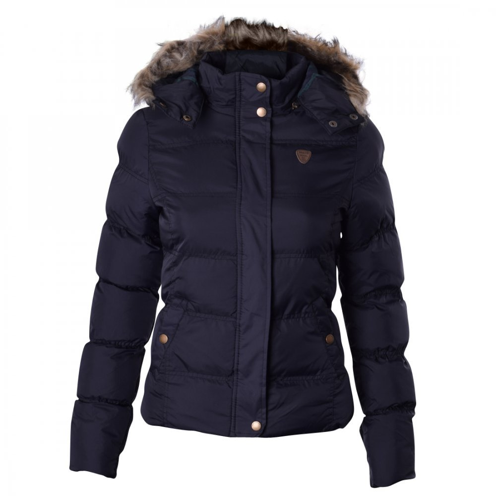 01aa53f34 Ladies Brave Soul Designer Jacket Quilted Puffer Padded Coat