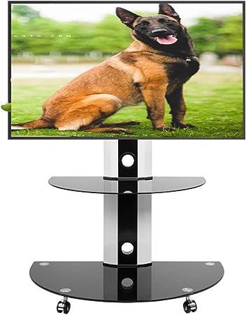 KBKG821 Universal TV Carro, TV Soporte de Suelo de pie Durante 32-55 Gestión Pulgadas LCD televisores LED Wire: Amazon.es: Hogar