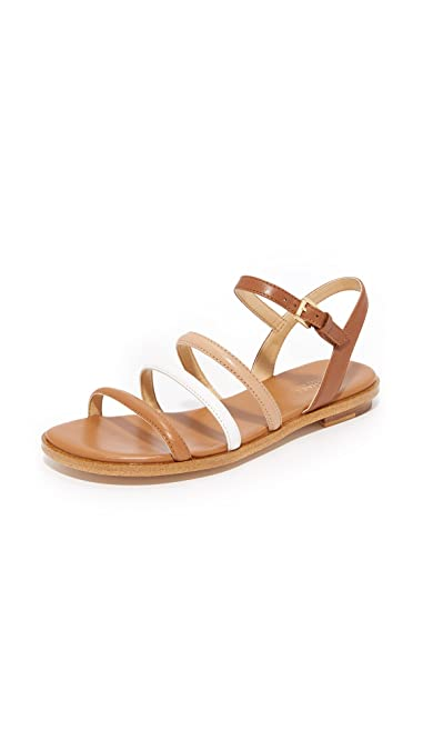 dd4c16a57864 Image Unavailable. Image not available for. Color  MICHAEL Michael Kors  Women s Nantucket Flat Sandals ...