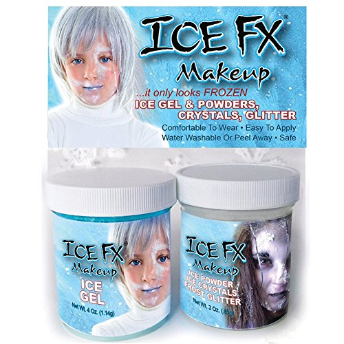 SilverRain Studio Ice FX Frozen (Ice Halloween Makeup)