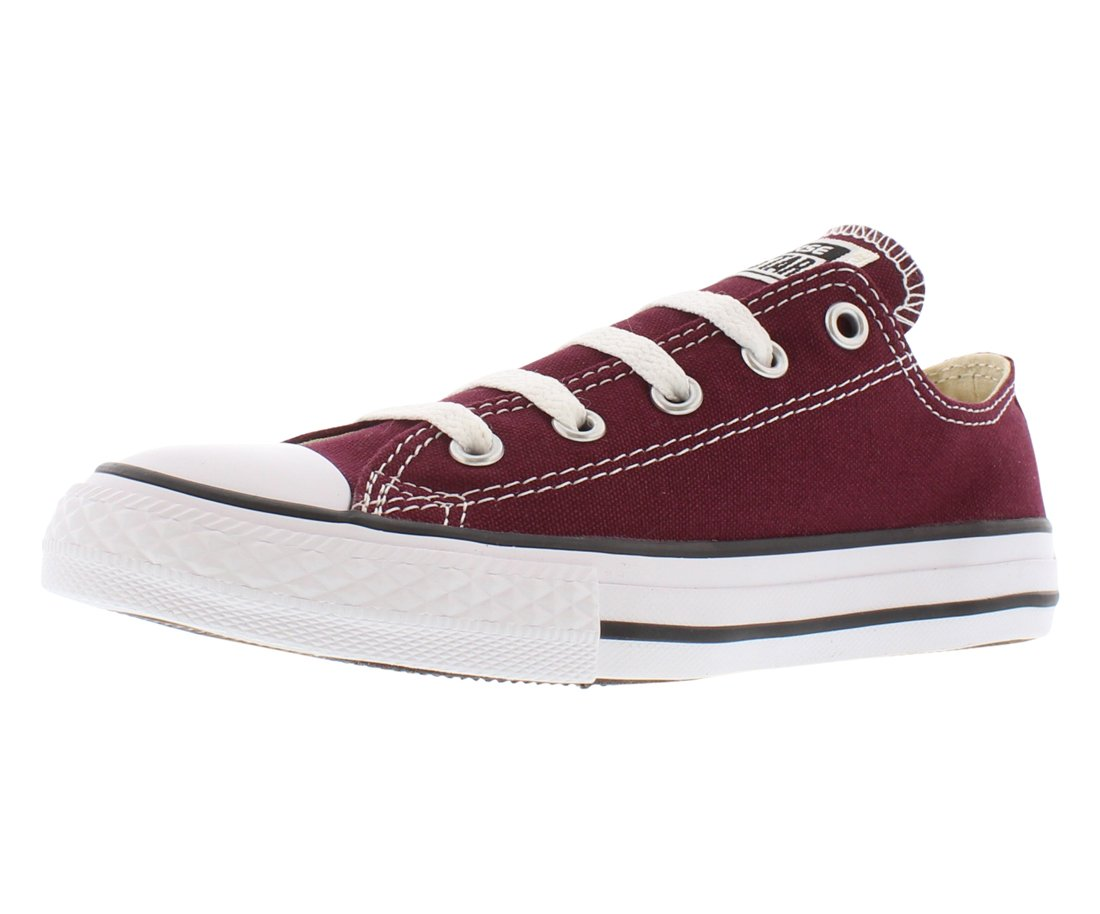 Converse Chuck Taylor All Star Season OX, Unisex Sneaker  1 M US Little Kid|Burgundy