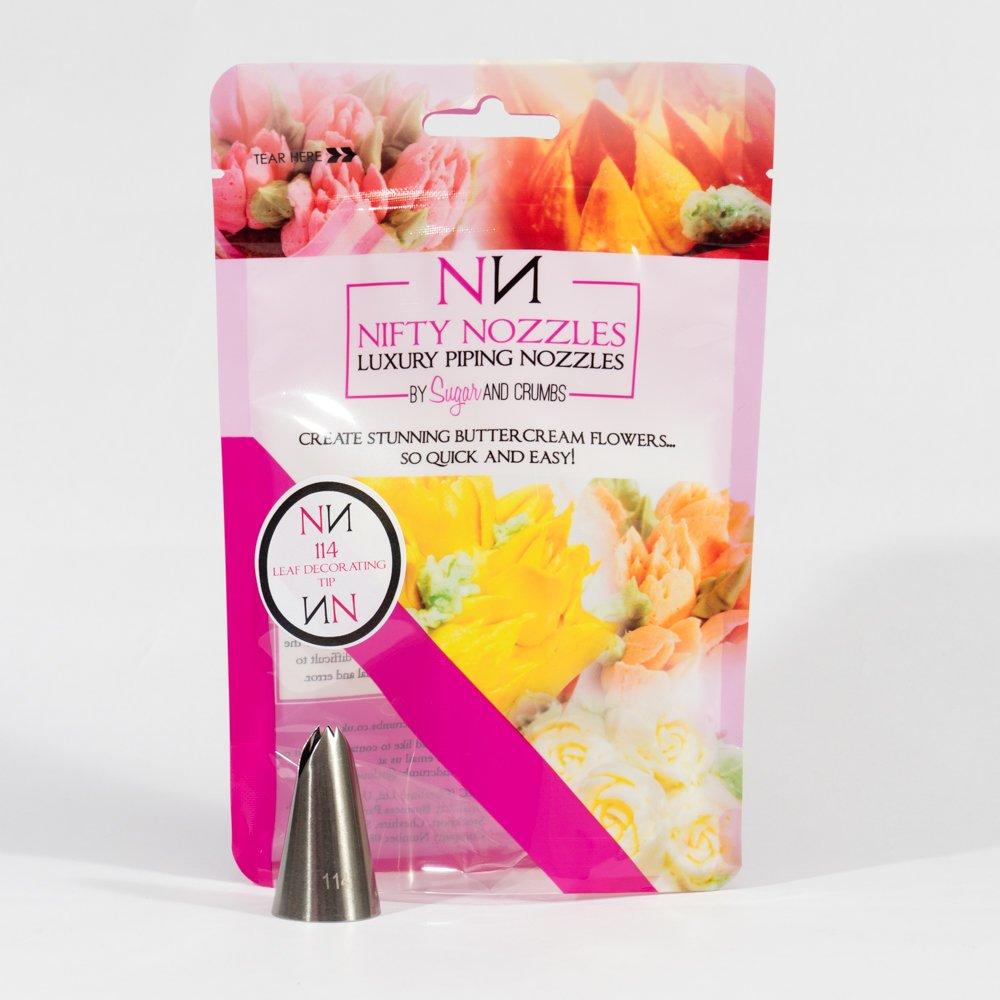 Nifty Nozzles SC-LEAF Tip 114 - Boquilla de acero inoxidable para hacer hojas con azúcar congelado: Amazon.es: Hogar