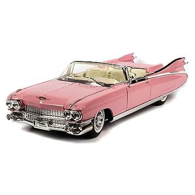1959 Cadillac Eldorado Biarritz Convertible, Pink - Maisto Premiere 36813 - 1/18 Scale Diecast Model Toy Car by Maisto: Toys & Games