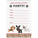 Amazoncom Puppy Dog Birthday Party Invitations 20 Count With