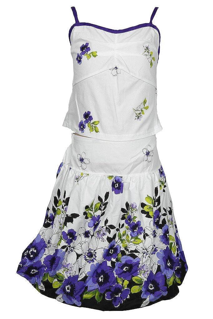 Alexandra Girls Formal Four Piece Floral Dress Set