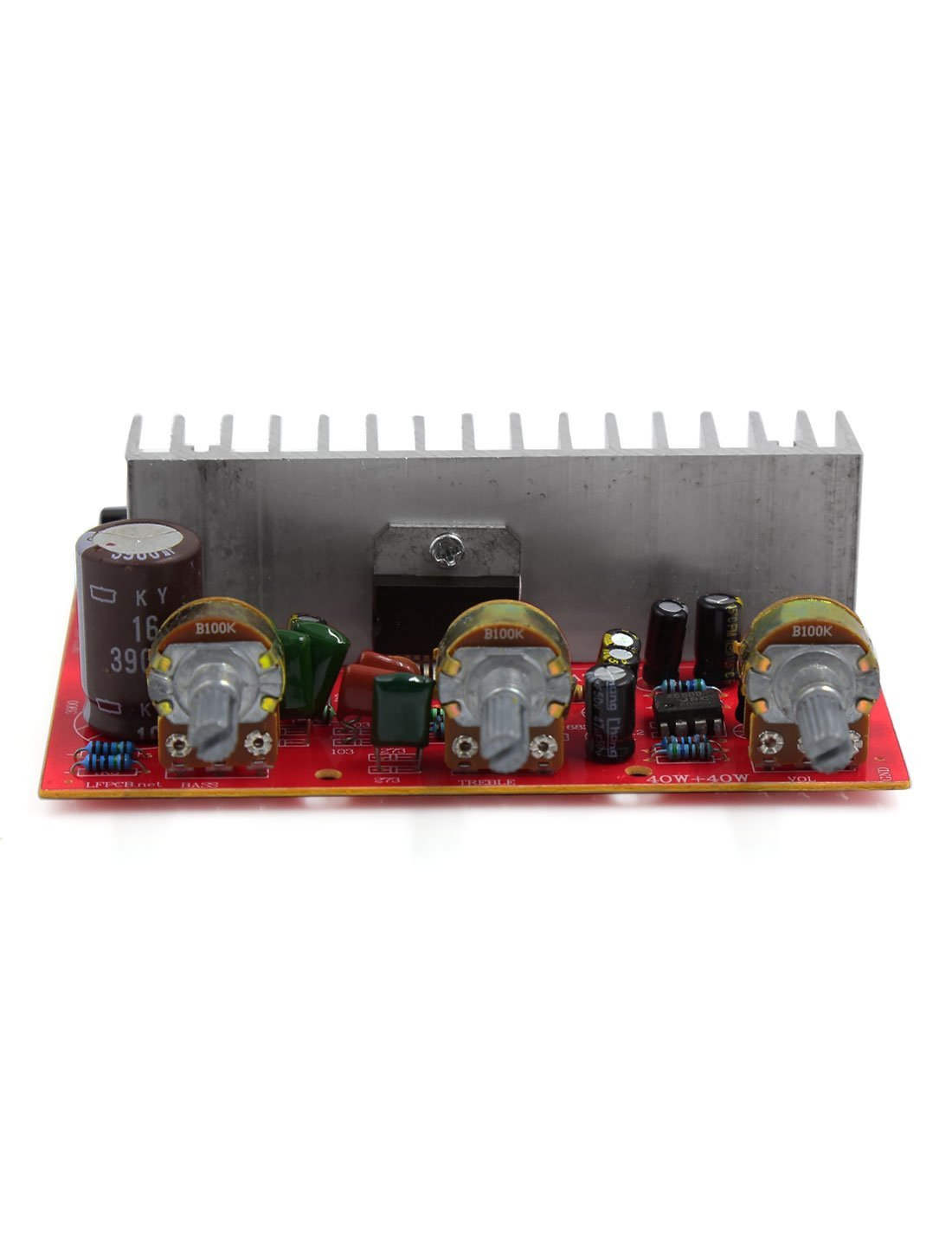 Amazon.com: 40W + 40W Áudio Hi-Fi Car Conselho Amplificador de Potência: Electronics