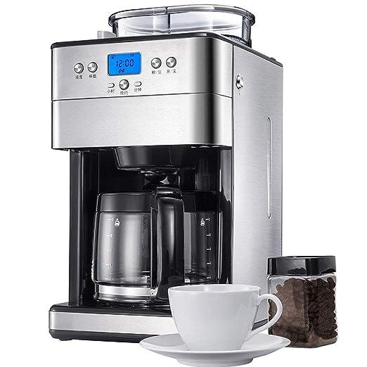 Máquina de café totalmente automática de granos de molienda 1.8L ...