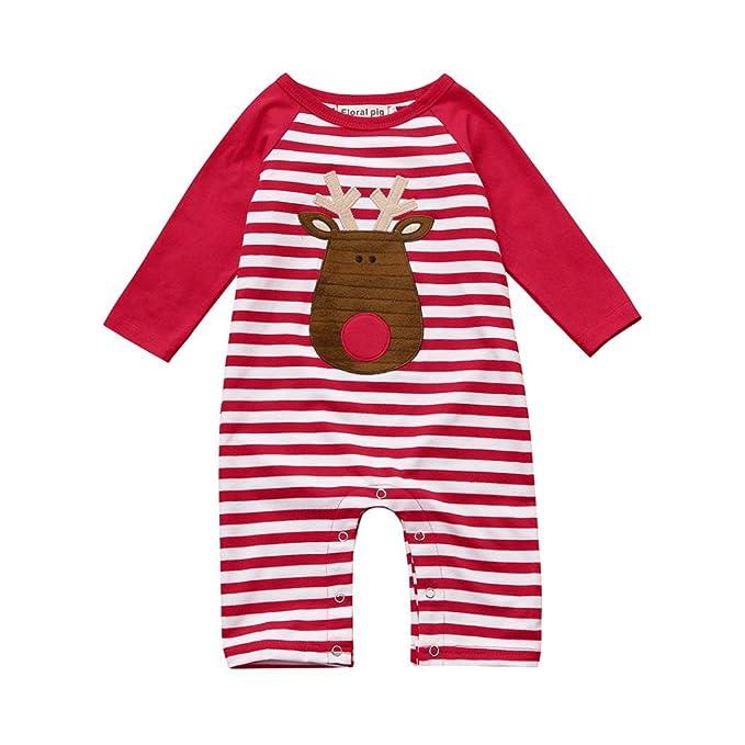 Amazon.com: winsummer bebé niños niñas trajes de manga larga ...