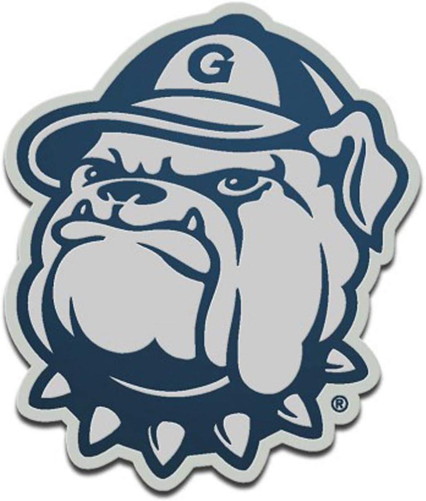 WinCraft Georgia Bulldogs Logo Auto Badge Emblem Hard Thick Acrylic