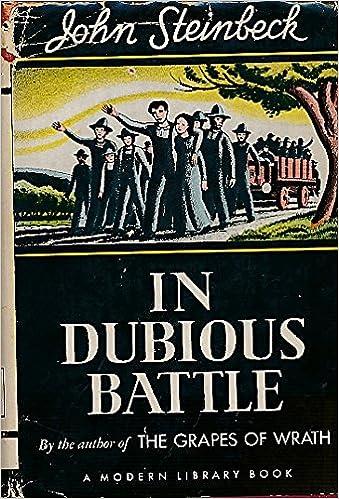 john steinbeck in dubious battle summary