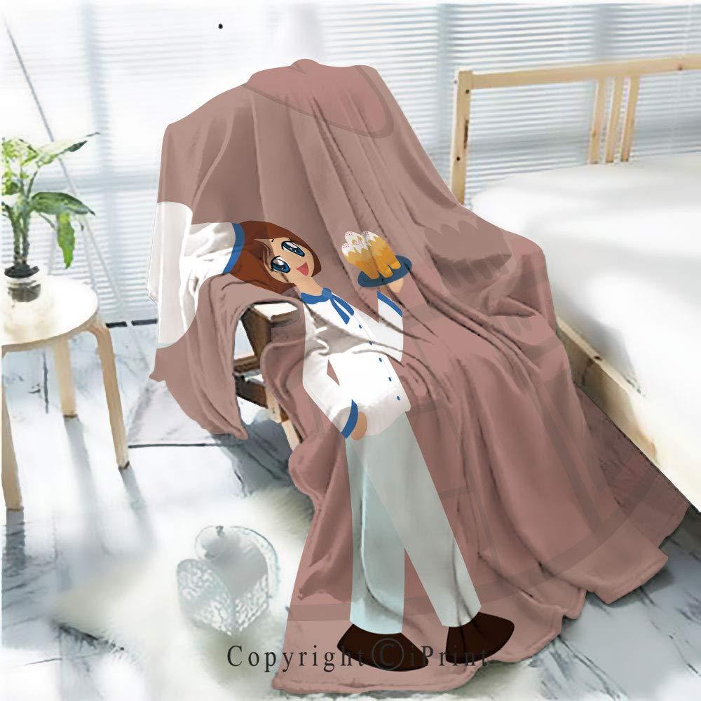 AngelSept ソフトで暖かい高級フランネル毛布 かわいい漫画の赤ちゃん用チンプファー オールシーズン プレミアムベッドブランケット サファリプリント マルチカラー W59.1xH78.7 INCH LianTian_dmmt_1904_105629_K150xG200 B07QNSKFNR カラー9 W59.1xH78.7 INCH