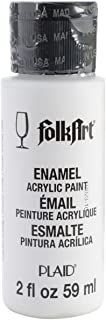 product image for FolkArt Enamel Glass & Ceramic Paint in Assorted Colors (2 oz), 4001, Wicker White