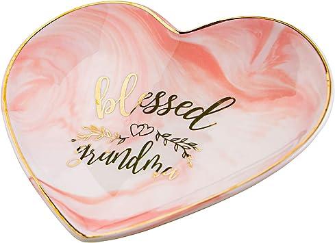 Nanna Gift Heart Glass Poem Photo Frame Rose Handle Love Gift Heart Granny Gift