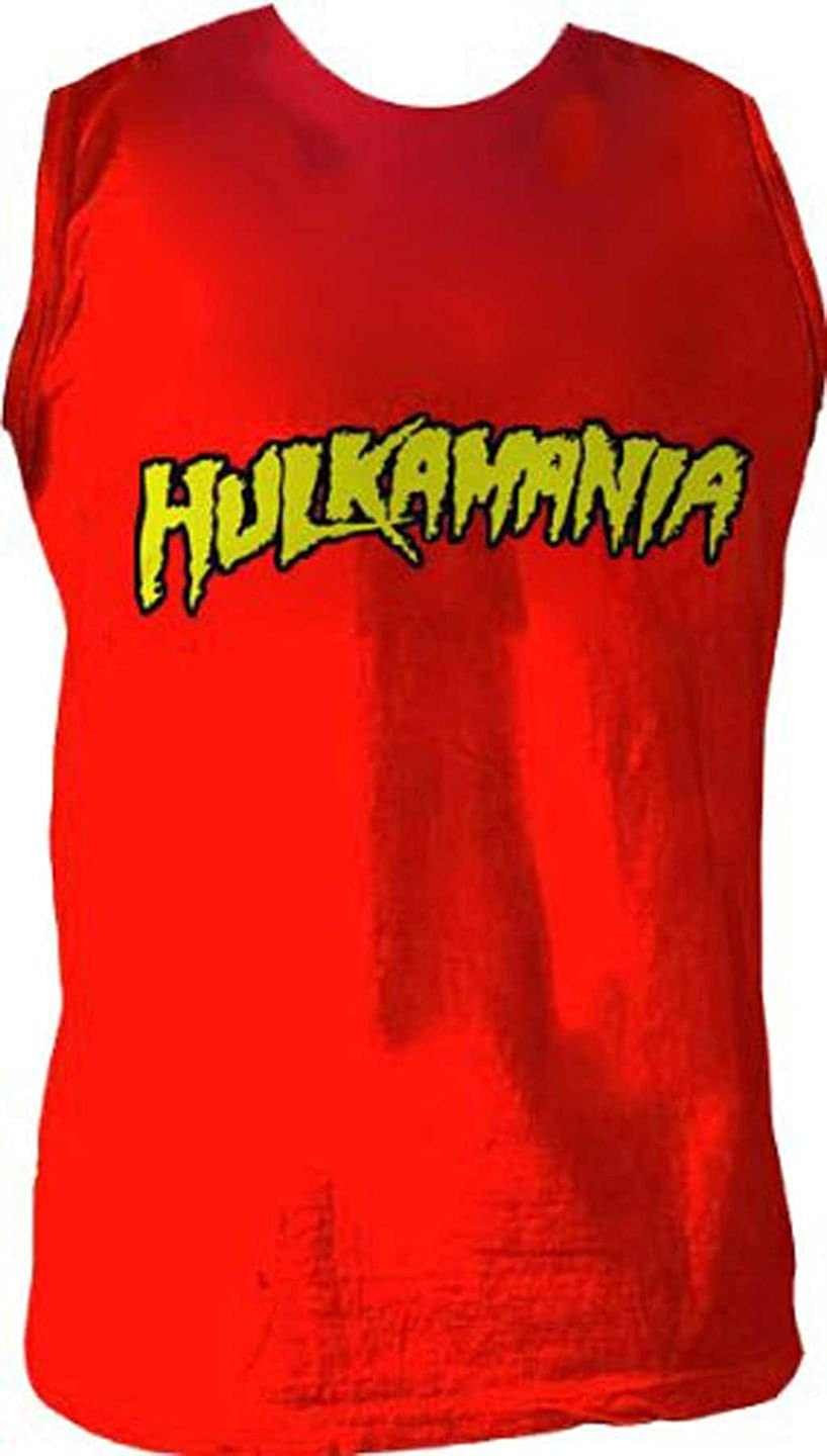 Hulk Hogan Hulkamania Sleeveless Red T-Shirt
