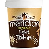 MERIDIAN FOODS - No GM Soya Organic Tahini Light 454g (PACK OF 1)