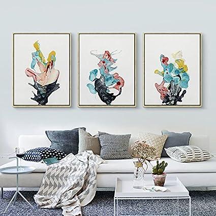 Amazon.com: Paintsh Living Room Decoration Painting Sofa Background ...