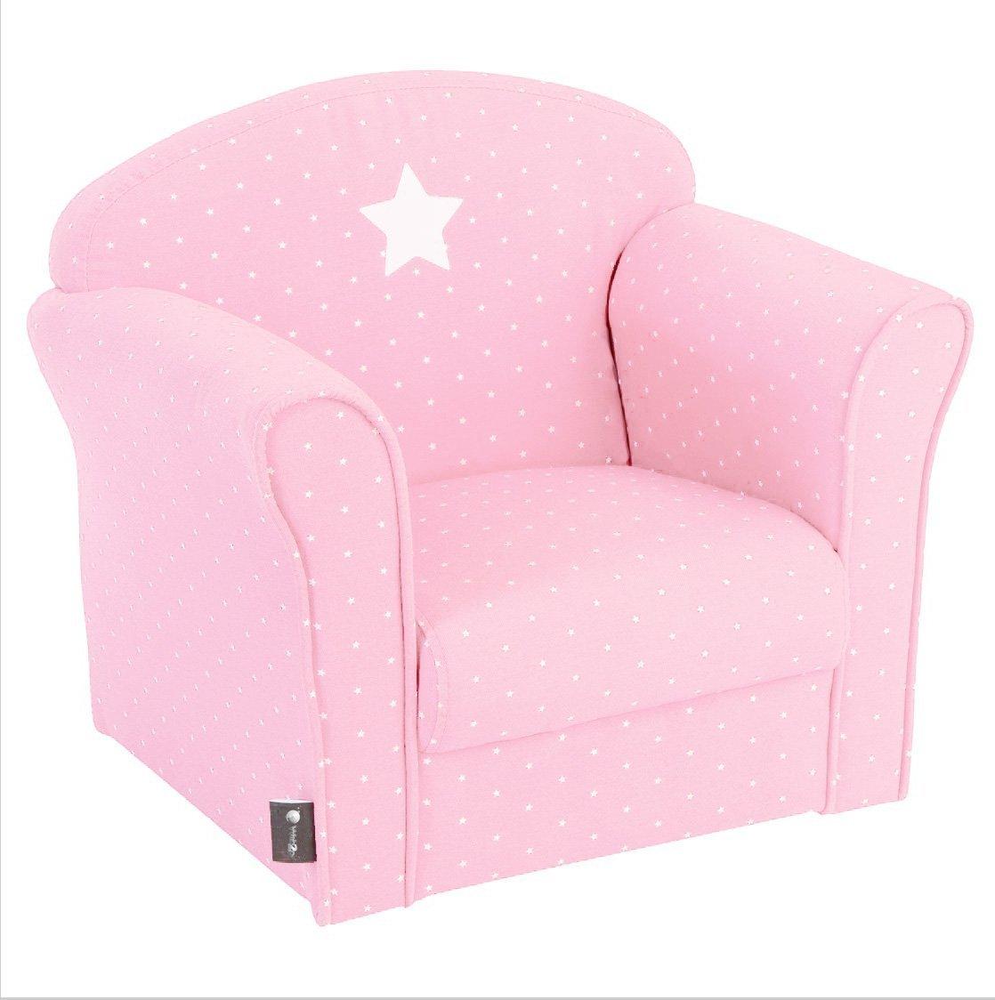 Silla para niños, color rosa claro WEB2O
