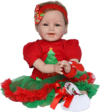 Lifelike Reborn Baby Ladybird Doll GiftNewborn Sleeping Soft Silicone Viny