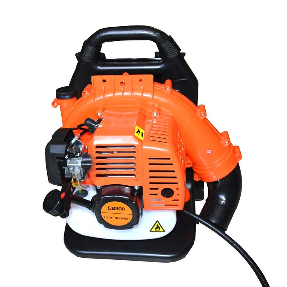 Jinroom エンジンブロワー 背負式 排気量:63cc 庭/農場/畑/道路などで強力な送風 2サイクル エンジンブロア 落ち葉 枯葉 ハイパワー B07LGKPB85
