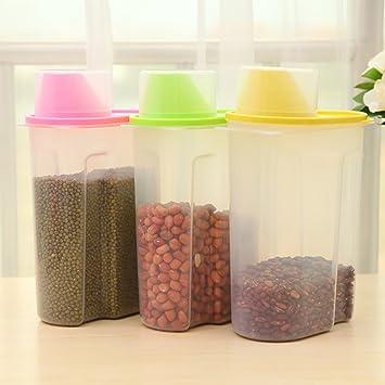 Kunststoff Behalter Aufbewahrung Musli Transparent Versiegelt Tank