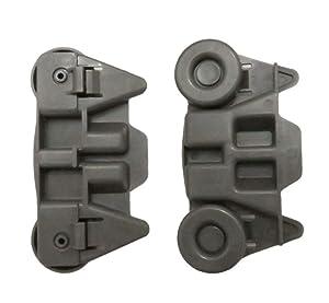 2Pcs W10195416V AP5983730 Lower Dishwasher Wheels fit KitchenAid Whirlpool Kenmore