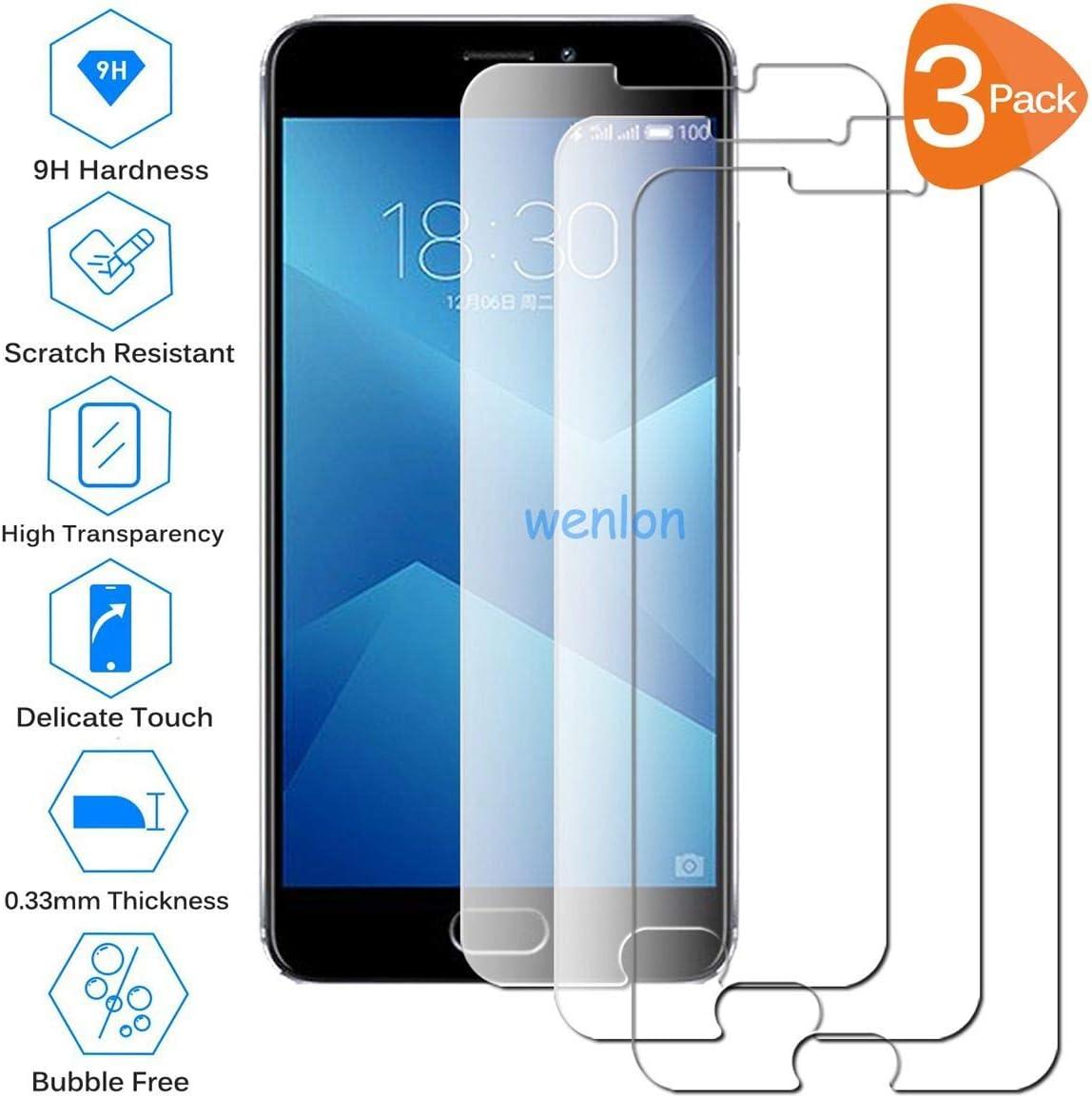 Wenlon [3 Unidades Adecuado para Meizu M5 Note/Meizu Note5 ...