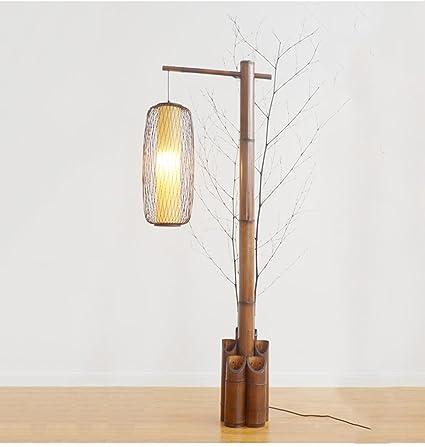 Lámpara de pie MEILING Estilo Chino Vertical lámpara de Mesa ...