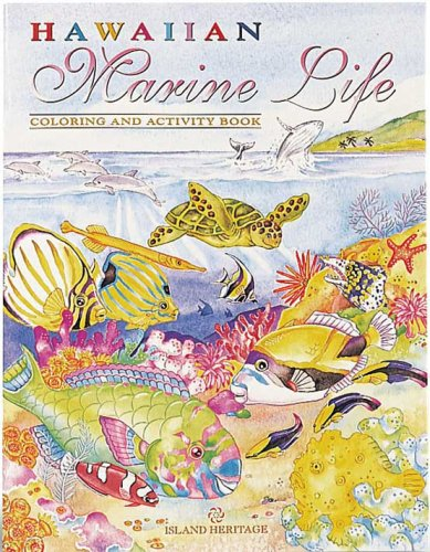 Hawaiian Marine Life Coloring & Activity Book