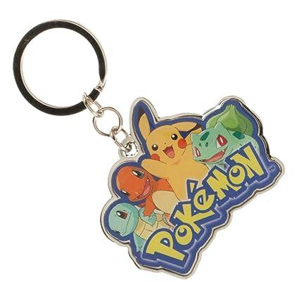 Amazon Com Bioworld Pokemon Starters Multi Character Keychain Toys