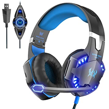 VersionTech Each G2200 Auriculares Gaming Auriculares Gamer Headset Gaming Headphone Gamer Micro- Auricular Auricular con