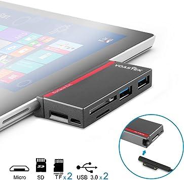 Amazon.com: VOASTEK - Adaptador de puerto USB 3.0 Hub ...