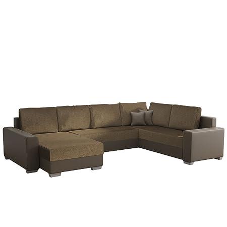 Mirjan24 Ecksofa Olga Elegante Big Couch Design U Form Eckcouch
