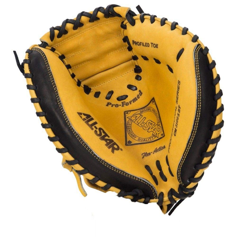 All-Star Pro-Advanced 33.5 Inch CM3100SBT Baseball Catcher's Mitt by All star