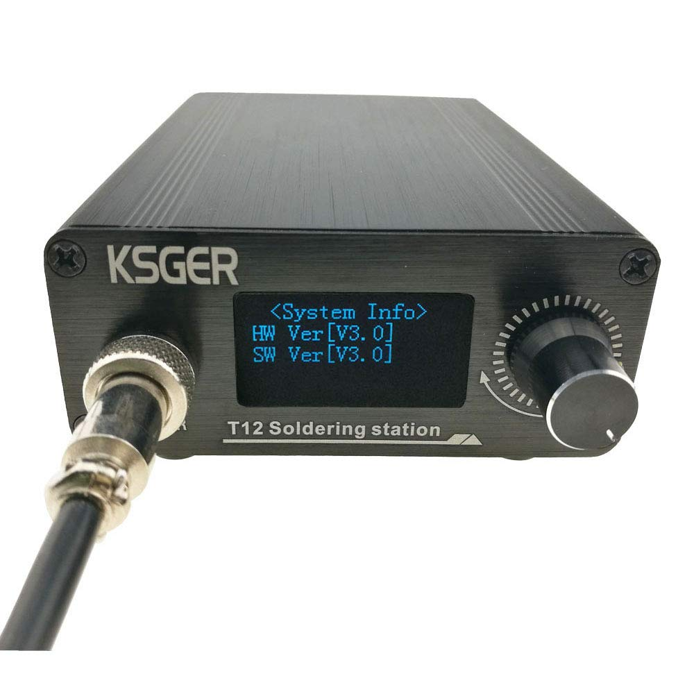 9501 Handle Werse V3.0 T12 Digital Temperature Controller Soldering Station Electric Soldering Iron Tips T12-K