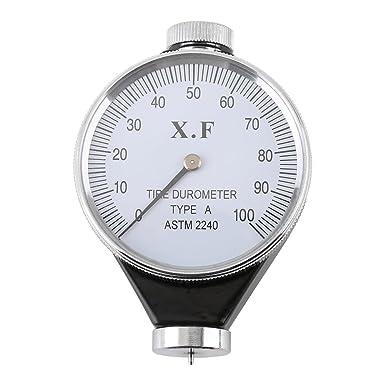 Gomma pneumatici durometro durezza tester HAShore Meter 0-100 tipo A//O//D forma O Shape Type