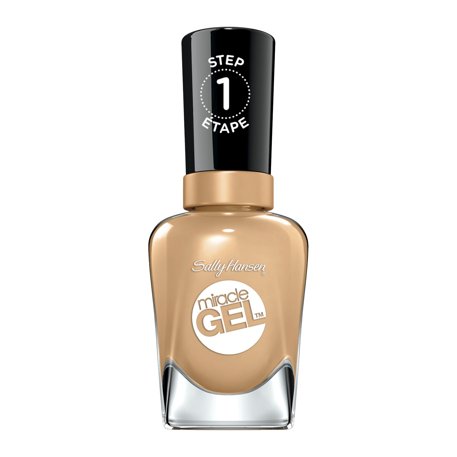 Sally Hansen Miracle Gel Nail Color, How Nude, 0.5 Ounce