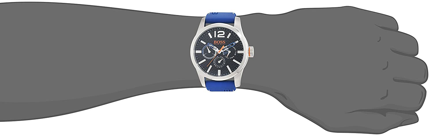 Amazon.com: Boss Orange Paris 1513250 Mens Wristwatch Solid Case: Boss Orange: Watches