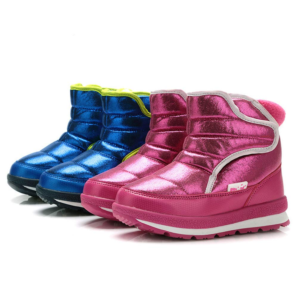 unyielding1 Boys /& Girls Insulated Waterproof Snow Boots Ski Boots Outdoor Boots